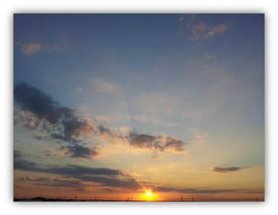 Sunset on Egg Harbor Bay
