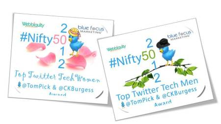 #Nifty50 Tech Women and Men of Twitter